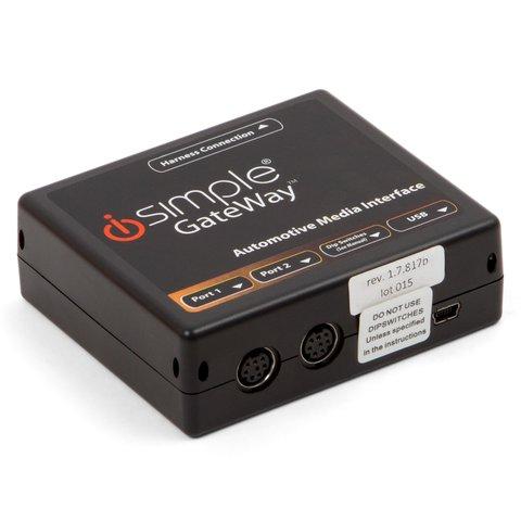 Адаптер для під'єднання iPhone iPod та AUX пристроїв у Nissan та Infiniti