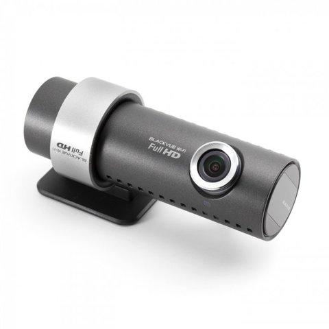Автовидеорегистратор с GPS и Wi Fi BlackVue DR500 GW HD черный