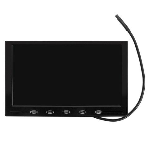 """Універсальний автомобільний LCD монітор з діагоналлю 9"""""""