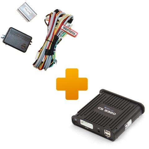 Навигационная система для Toyota Touch & Go с монитором FujitsuTen на базе CS9320A
