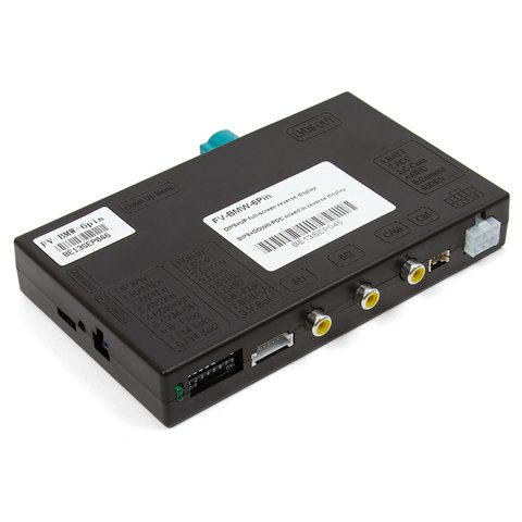 Interface de video para BMW F20 F30