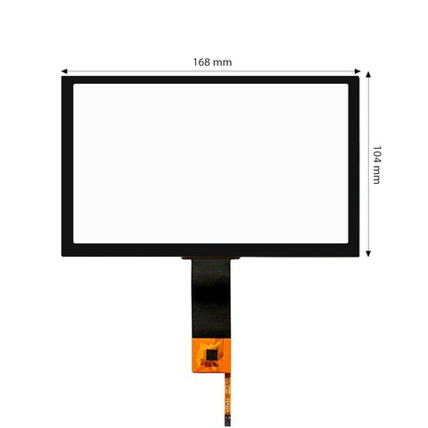 """7"""" Capacitive Touch Screen for Audi, Mercedes-Benz, Volkswagen"""