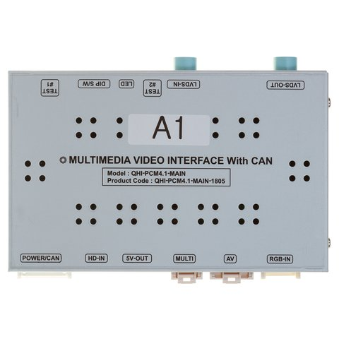 Video Interface for Audi A1 Q3 of 2019~ MY