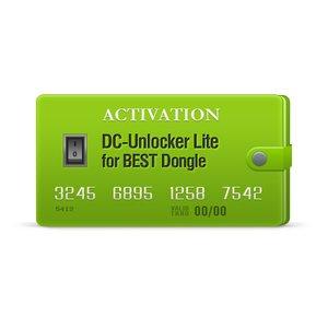 DC-Unlocker Lite Activation for BEST Dongle