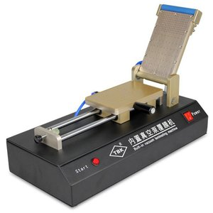 Film Laminating Machine (OCA, Polarizing) TBK-R for Apple iPhone 4, iPhone 4S, iPhone 5, iPhone 5C, iPhone 5S, iPhone 6, iPhone 6 Plus, iPhone SE; Samsung I8910 Omnia HD, I9100 Galaxy S2, I9103 Galaxy R, I9105 Galaxy S2 Plus, I9220 Galaxy Note, I9300 Galaxy S3, I9305 Galaxy S3, I9500 Galaxy S4, I9505 Galaxy S4, N7000 Note, N7005 Note, N7100 Note 2, N7105 Note 2 Cell Phones, (with built-in vacuum pump, for LCDs up to 7