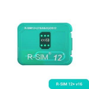 R-Sim 12+ v16 Unlocking Card for iPhone X / 8 / 8 Plus / 7 / 7 Plus / 6s / 6s Plus / 6 / 6 Plus / 5 SE / 5s / 5c / 5