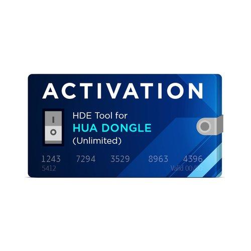 Activación ilimitada HDE para Hua Dongle