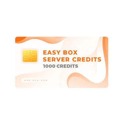 Créditos del servidor Easy-Box (1000 créditos)