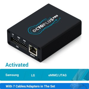 Octoplus Pro Box с набором кабелей 7 в 1 (с активацией Samsung + LG + eMMC/JTAG)