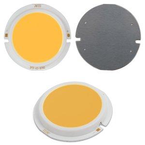 COB LED модуль 7 Вт (теплый белый, 450 лм, 43 мм, 300 мА, 21-23 В)