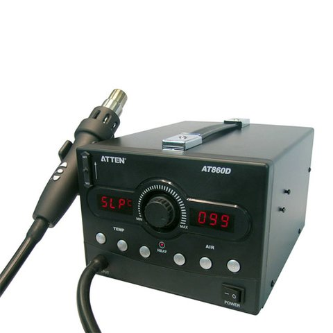Термоповітряна паяльна станція ATTEN AT860D