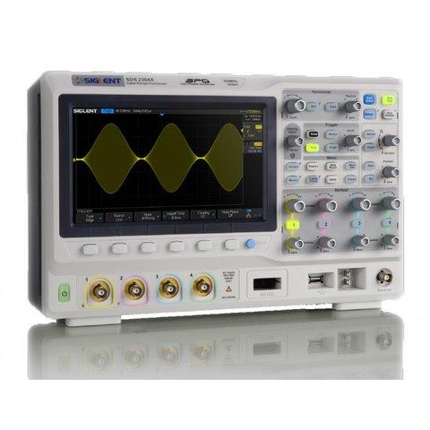 Фосфорний цифровий осцилограф SIGLENT SDS2074X