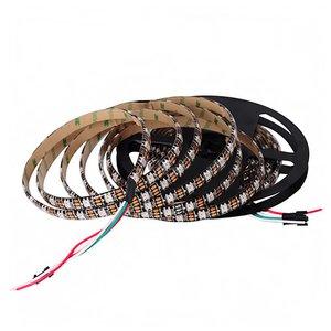 Світлодіодна стрічка RGB SMD5050, WS2812B (з управлінням, IP65, 5 В, 60 діодів/м, 5 м)