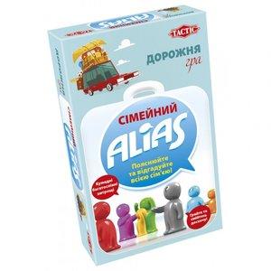 Настольная игра Tactic Семейный Alias дорожная версия (на украинском языке)