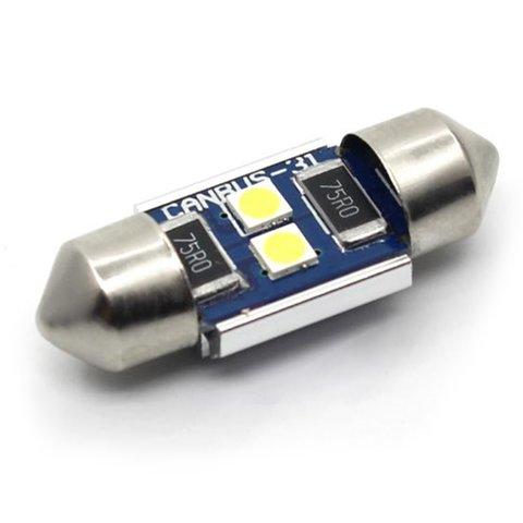 Car Interior LED Lamp UP SJ N2 3030 31MM white, 12 14 V